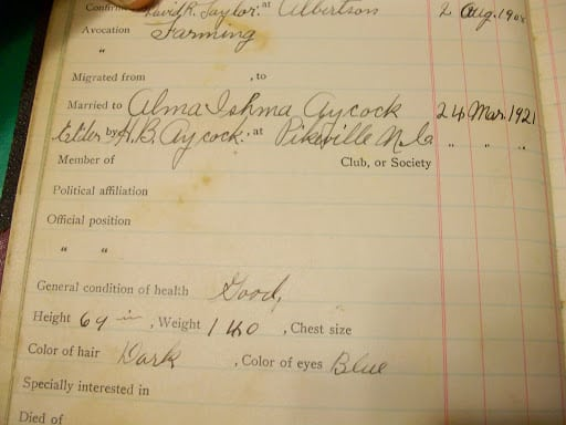 William Walter Harper LDS Family Record Book