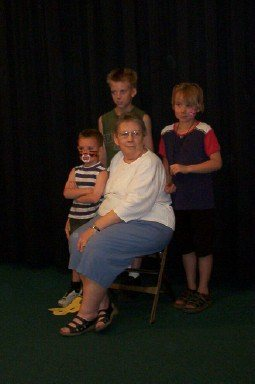 Letty Willmore and grandkids